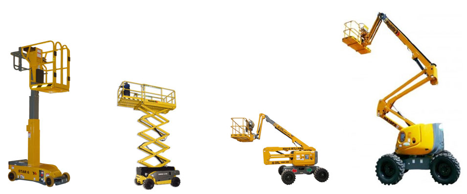 Haulotte Group Scissor Lift, Pro Knuckle Boom, Boom Lift